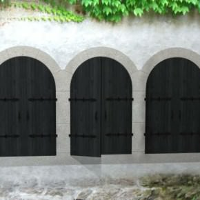 Abbaye de l'Escaladieu - Reconstitution de l'armarium
