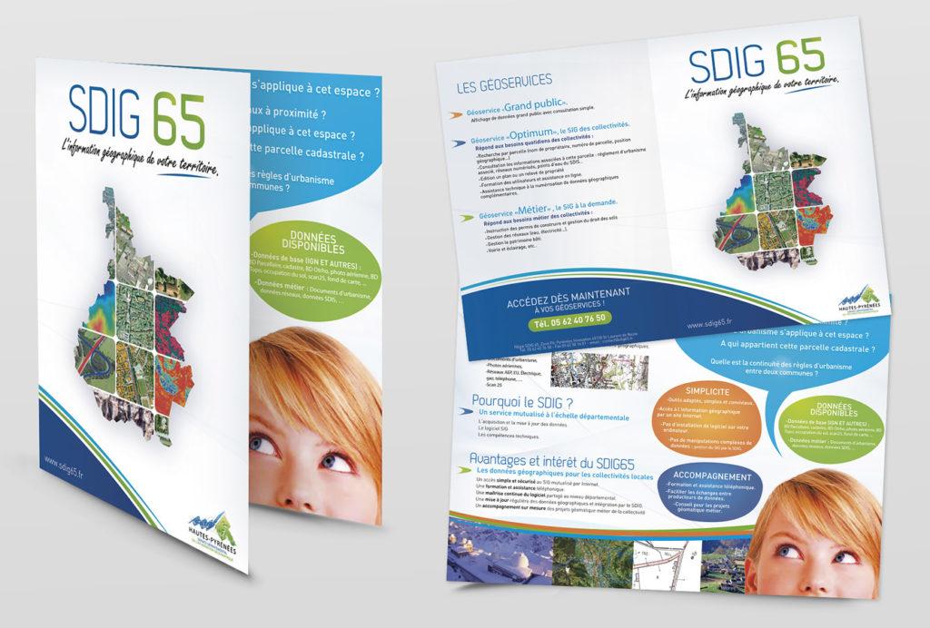service départementale de l'information géographique